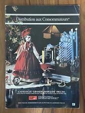Vintage 1983-1984 Consumers Distributing Catalogue Catalog RARE French Version!
