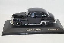 Opel Kapitän 1951-53 black schwarz Minichamps 1:43 Sondermodell 1997
