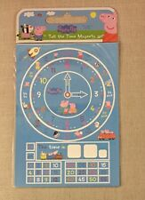Peppa Pig Tell The Time Magnets