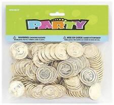 Unique 86932 - Geburtstag & Party - Goldmünzen, Kunststoff, 144 St.