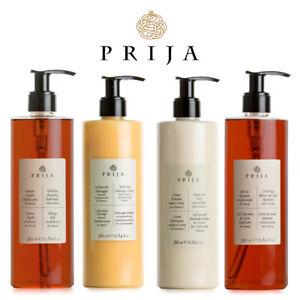 Prija Set Flüssigseife, Hair & Body, Bodylotion, Massagelotion Ginseng 4x 380 ml