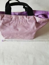 Herve Chapelier Two Tone Nylon Medium size Tote Bag Baby Pink & Lilac Pink