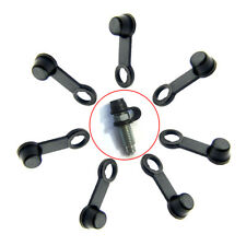 8pcs Brake Caliper Bleed Nipple Screw Dust Cap Cover For 8mm Car & Motorcycle SR