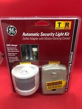 GE Automatic Security Lighting Control Kit Transmitter Receiver Smart home B003