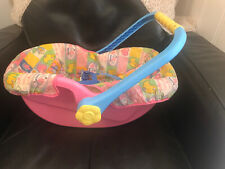 Rare Zapf Creation Baby Born Doll Car Seat Carrier Pre-Owned 90s Toy