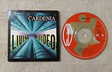 "CD AUDIO / CARDENIA ""LIVING ON VIDEO"" 1993 CD SINGLE 2T DANCE POOL DAN 659929-1"