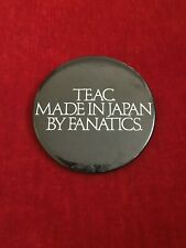 Teac . Made In Japan By Fanatics Vintage 1980'S Pin