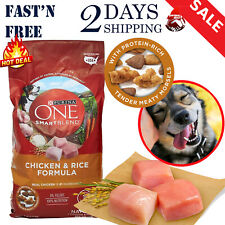 Purina ONE SmartBlend Chicken & Rice Adult Formula Dry Dog Food 8lb