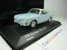 VOLKSWAGEN KARMANN GHIA 1600 1966 1/43 MINICHAMPS (PASTEL BLUE)