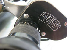 Zeiss Feldstecher 8 fach binoculars Ser. No. 46635 (~1902) + case NICE!