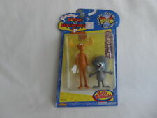 The Adventures of Rocky & Bullwinkle Bend-Ems Bendable Poseable Collectable Nip