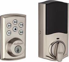 Kwikset SmartCode 888 Z-Wave Touchpad Deadbolt Door Lock Smart Keys Satin Nickel