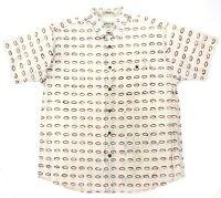 Orvis Men's Size XL Shirt Collared Button Up Short Sleeve Pattern Print Cotton