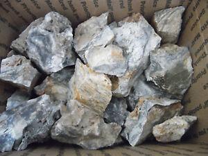 Flint Chert Mozarkite Ozark's 12+ lbs Rough Knapping Lapidary Lot FREE SHIPPING