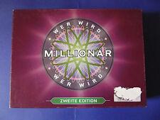 WER WIRD MILLIONÄR - ZWEITE EDITION, für 2 bis 5 Spieler ab 12 Jahren