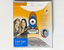 CREATIVE LIVE CAM VIDEO IM MODEL VF0350.