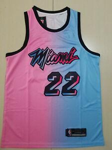 Miami Heat #22 Jimmy Butler New version gradient Basketball Jersey Size: S-XXL