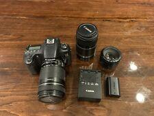 Canon EOS 60D 18.0MP Digital SLR Camera - Black (Kit w/ EF-S IS 18-135mm