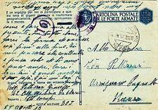 G481-II WW., P.M. 305 SU C.P., FRANCIA PER VICENZA,COMANDO CC.NN. DA SBARCO,1943