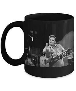 Johnny Cash Middle Finger Funnny Country Music Lover Gift Mug