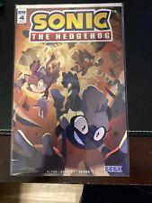 Sonic the Hedgehog #4 1/10 Retailer Incentive variant