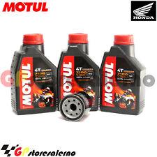 KIT TAGLIANDO OLIO + FILTRO OLIO MOTUL 7100 10W40 HONDA 650 XL V TRANSALP 2000