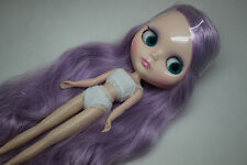 "12"" Neo Blythe Doll Mix Light Purple Hair  Nude Blythe Doll from Factory XZ010"