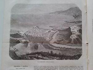 1866 El Museo Universal, El cuadrilatero Vista de Legnano; Doctor Livingstone...