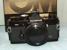 OLYMPUS OM-2N BLACK CAMERA BODY BOXED