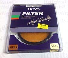 Hoya 62mm Special Effect Sepia A Lens Filter For Film SLR DSLR 62 mm Japan A