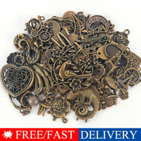 Vintage 50g/pack Jewelry Making Mixed Charms Pendants Random Shape DIY Crafts IL