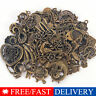 Vintage 50g/pack Jewelry Making Mixed Charms Pendants Random Shape DIY Kits UA