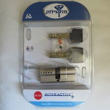 NEW !!! MUL T LOCK INTERACTIVE CYLINDER 35+35MM HIGH SECURITY EURO PROFILE