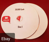 20,000 ebooks in Epub formats, mixed genres classic stories ebooks on 2 discs