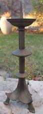 ancien pique cierge en bronze (religieux )