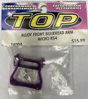 New TOP T4004 ALUMINUM FRONT LOWER ARM BULK PIVOT FOR HPI SUPER NITRO RS4 ALLOY