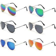 Aviator Sunglasses Men Women Vintage Mirror Lens New Fashion Frame Retro Pilot