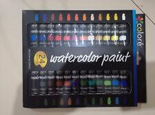 24 colori di acquerelli ricchi di pigmenti - Set di acquerelli – Kit per dipinge