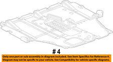 Dodge CHRYSLER OEM Dart Splash Shield-Underbody Under Engine Cover 68082724AH