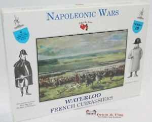 A CALL TO ARMS SET #19 - NAPOLEONIC FRENCH CUIRASSIERS. 1/32 SCALE HEAVY CAVALRY