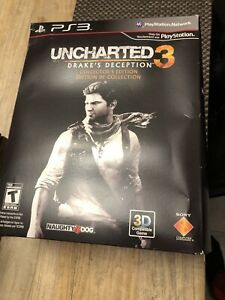 New Uncharted 3 Drake's Deception Collector's Edition PS3