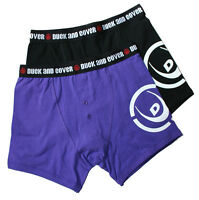 DUCK AND COVER 2-pack button boxers BNWT