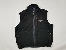 90's Ralph Lauren Polo Sport Fleece Vest Black Large