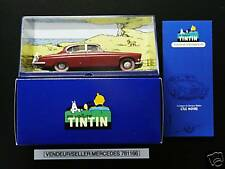 VOITURE TINTIN CAR ATLAS # 40 LA JAGUAR DU DR. MÜLLER