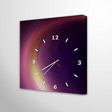 Wanduhr Modernes Design Lautlos Wohnzimmer Leinwanduhr Deko Holz Uhr 019