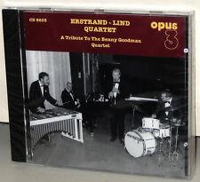 OPUS 3 CD-8603: Erstand - Lind Quartet - Tribute to Goodman - OOP 2002 Sweden SS