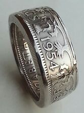 VINTAGE DOUBLE SIDED COIN RINGS - ALL COINS / SIZES/ YEARS - HANDMADE FOR YOU
