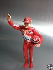 1/18 scale Michael Schumacher Figure for Hotwheels F1 Finshed product