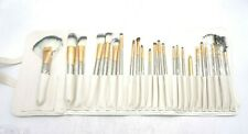 Yoa 24 Piece Brush Set | Horse Hair Professional Kabuki Makeup Brush Set Cosmeti