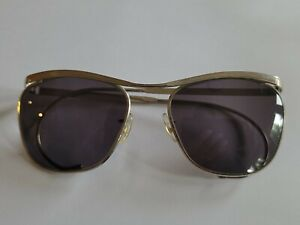 Sunglasses Vintage Cutler and Gross of London Silver Frame 1980's